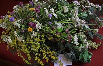 Concurso de ramos de flores