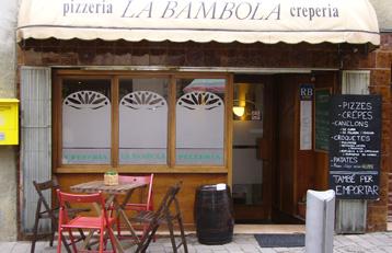 PIZZERIA LA BAMBOLA
